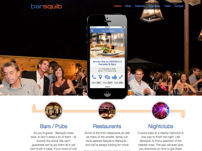 Barsquib mobile apps developer