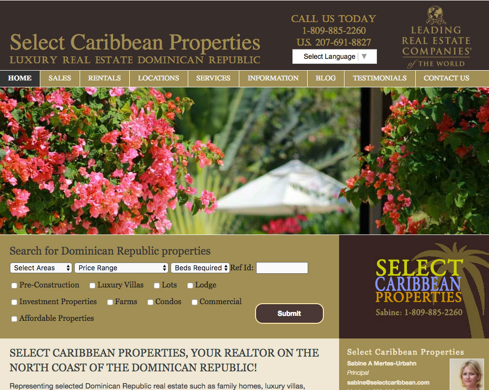 Selectcaribbean web developer
